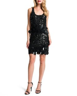 Cynthia Steffe - Marta Sequined Racerback Dress