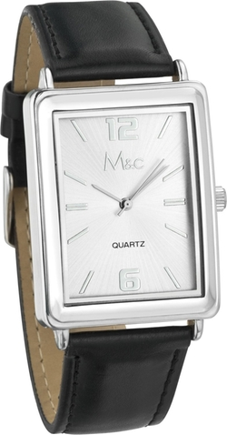 M&c - Dial-Rectangular Case Watch