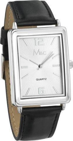 M&c - Dial-Rectangular Case Watch