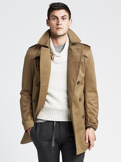 Banana Republic - Double-Breasted Trench