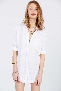 BDG  - Double Cloth Button-Down Shirt