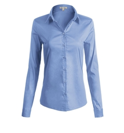 Luna Flower - Collared Neck Stylish Shirt