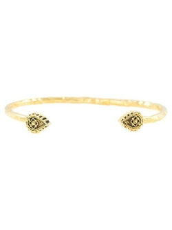 Vanessa Mooney - The World Above Pinch Cuff Open Bangle Bracelet