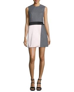 McQ Alexander McQueen  - Paneled Sleeveless Party Dress