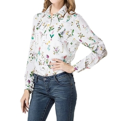 TopTie - Floral Printed Casual Blouse