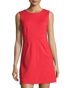 Laundry By Shelli Segal  - Cutout-Back Sleeveless Sheath Dress