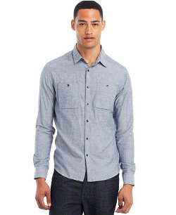 Kenneth Cole Reaction  - Chambray Shirt