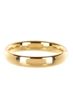 Nordstom Rack - Yellow Gold Comfort Fit Wedding Band