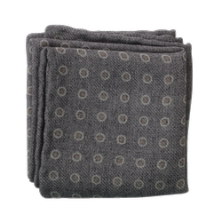 Brunello Cucinelli  - Circle Dot Pocket Square
