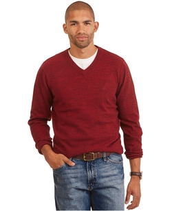 Nautica - Cotton V-Neck Sweater