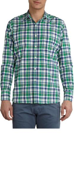 PIATTELLI  - Plaid Shirt