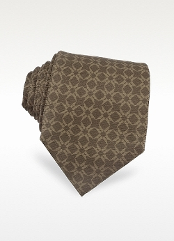 Moreschi - Printed Silk Tie