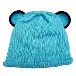 Twinklebelle  - Blue Bear Ear Baby Hat