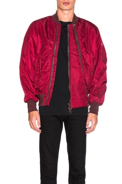 Givenchy  - Nylon Double Zip Bomber Jacket