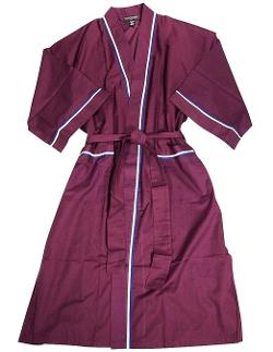 State O Maine - Mens Sleeve Broadcloth Robe