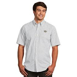 Antigua Nashville - Predators Scholar Plaid Button-Down Shirt