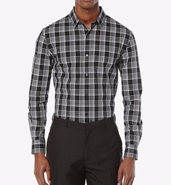 Perry Ellis - Ellingwood Plaid Long-Sleeve Shirt