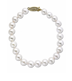 Lord & Taylor - Akoya Pearl Strand Necklace