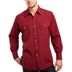 Ely Cattleman - Long-Sleeve Tonal Snap Shirt