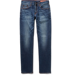 Jean Shop - Slim-Fit Washed-Denim Jeans
