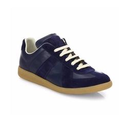 Maison Margiela - Replica Leather & Suede Sneakers