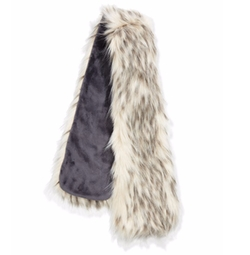 Fabulous Furs - Faux-Fur Pull-Through Scarf