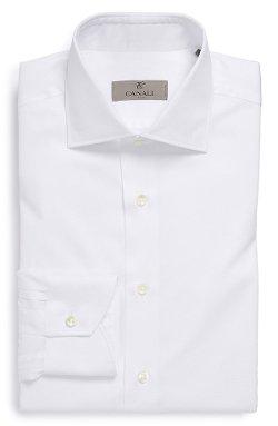 Canali - Regular Fit Texture Dress Shirt
