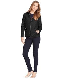 Lauren Ralph Lauren - Quilted Zip-Front Jacket