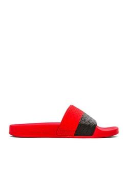 Adidas By Raf Simons - Two Tone Adilette Sandals