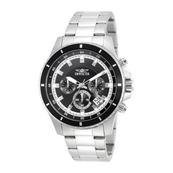 Invicta - Stainless Steel Chronograph Watch