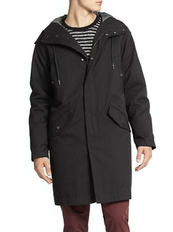 Marc by Marc Jacobs - Hooded Parka Jacket