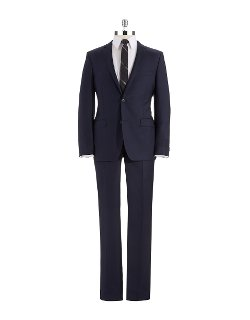 DKNY  - Modern Fit Two-Piece Suit