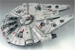Star Wars - Millennium Falcon Japanese Collectible Model Kit
