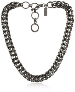Auden Hudson - Gun Metal Necklace
