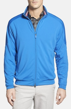 Bobby Jones - Mesh Panel Full Zip Jacket