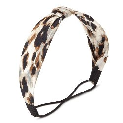 Capsule By Cara - Animal Print Formed Headwrap