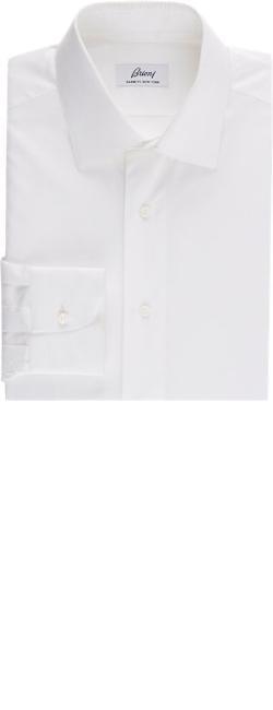 Brioni   - Broadcloth Dress Shirt