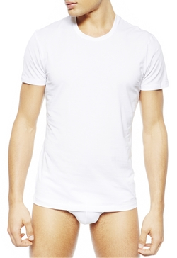 Skin By Nero Perla - New Crew-Neck T-Shirt