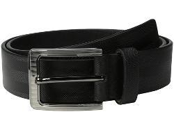 Stacy Adams - Full Gain Leather with Herringbone Design Belt