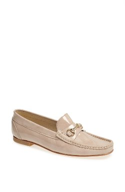 French Sole  - Lecture Patent Leather Flat Loafer