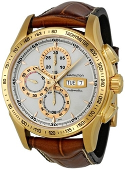 Hamilton - Lord Hamilton Yellow Gold Chronograph Watch