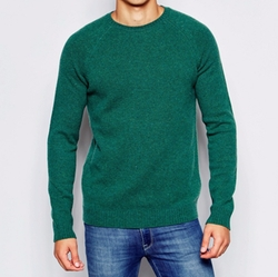 Asos - Lambswool Rich Crew Neck Sweater