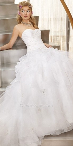 Lana Bisset from Camille La Vie  - Taffeta and Organza Wedding Dress