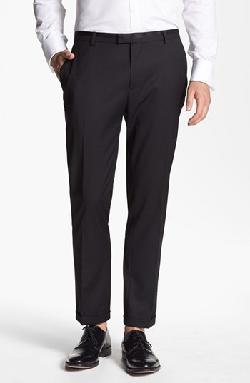 Topman - Slim Fit Tuxedo Trousers
