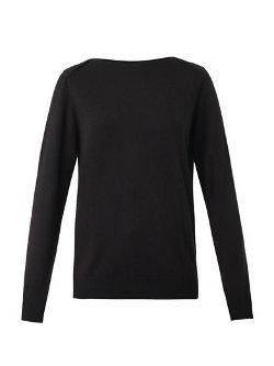Freda  - Boat-Neck Cashmere Sweater