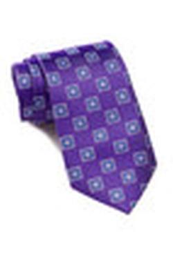 Ike Behar - Silk Print Tie
