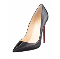 Christian Louboutin  - So Kate Patent Leather Point-Toe Pumps