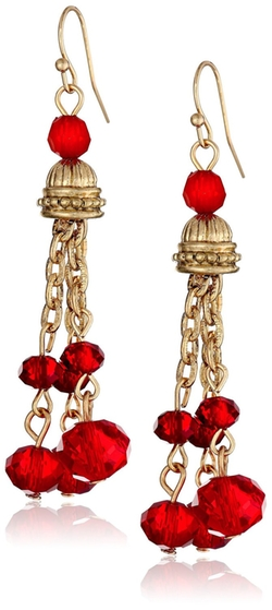 1928 Jewelry - Cyprus Tassel Drop Earrings