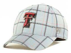 "Lids - Texas Tech Red Raiders Top of the World ""NCAA Fuse Plaid One-Fit Cap"""