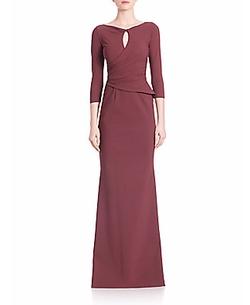 La Petite Robe di Chiara Boni - Kelcie Twist Neck Gown